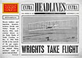 Wright Brothers Flight trading card 2012 Golden Age Headlines #1