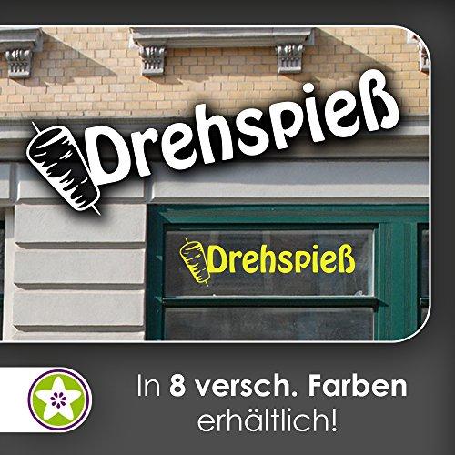Drehspie-spf-Dner-Kebap-Hackfleisch-Schaufenster-Aufkleber-Fenster-Imbiss-32hellrot-30-cm