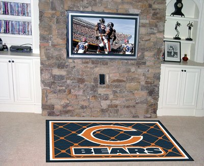 Bears 5' x 8' Area Rugs