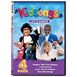 Kidsongs: Let's Dance 4 Pack