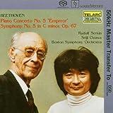 Piano Concerto 5 / Symphony 5 (Hybr)