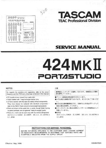 teac-tascam-424mkii-portastudio-service-manual