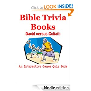 Bible Trivia Books - David versus Goliath - An Interactive Games Quiz Book on Bible Trivia