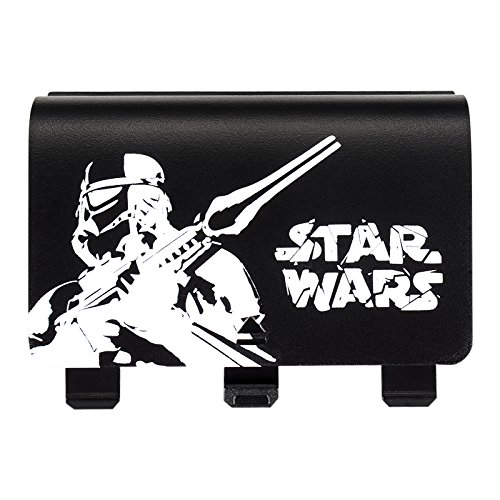 eXtremeRate® Star World Wars Game Theme Limited Edition Designer Back Battery Case Cover Shell Replacement Parts for Xbox One Controller