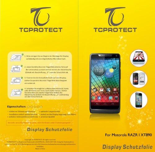 1x tcprotect Motorola razr i xt890 Schutzfolie Anti Reflex Matt