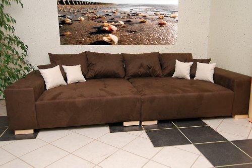 Big Sofa - Made in Germany - Bezug Noble Lux - Freie Farbwahl ohne Aufpreis aus ca. 70 Farben - Nahezu jedes Sondermaß möglich! Sprechen Sie uns an. Info unter 05226-9845045 oder info@highlight-polstermoebel.de thumbnail
