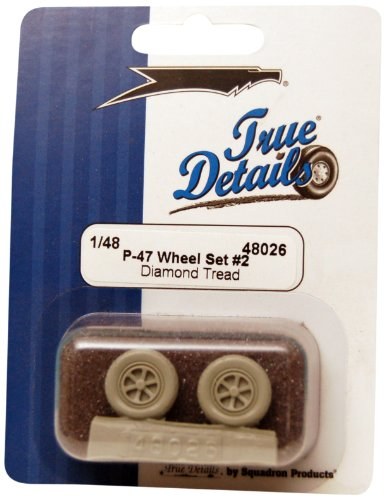 True Details P-47 Wheel Set #2