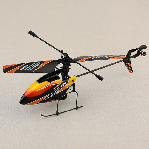 NEEWER® WLtoys V911 2.4GHz BNF Remote Radio Control Single Blade Helicopter 4CH GYRO Heli Black