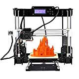 Anet A8 High Precision Desktop 3D Printer Kits Reprap i3 DIY Self Assembly with 8GB SD Card Aibecy Cleaning Cloth (Tamaño: Anet A8)