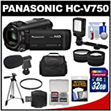 Panasonic HC-V750K HD Wi-Fi Video