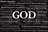 Poster Service God Quotes Poster, 24-Inch by 36-Inch