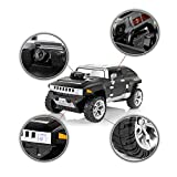 LUCKSTAR® WIFI RC Car, 4-Channels GT-300C i-Spy RC Black Hummer WIFI Control Off-road Spy Vehicle Toy with Real Time Video Camera