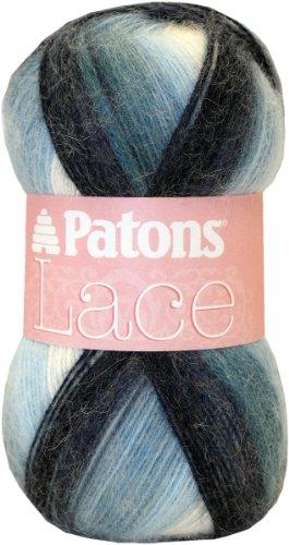 Patons Lace Yarn, Porcelain пряжа для вязания patons fab big colour цвет бирюзовый зеленый синий 00088 120 м 200 г 9806557 00088