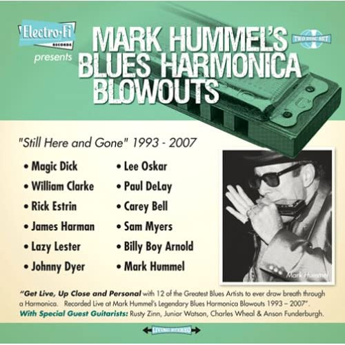 Mark Hummel's Blues Harmonica Blowouts – Still Here & Gone (Electro-Fi Records)