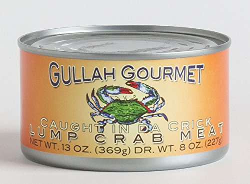 Gullah Gourmet Lump Crab Meat Canned 13oz 369g