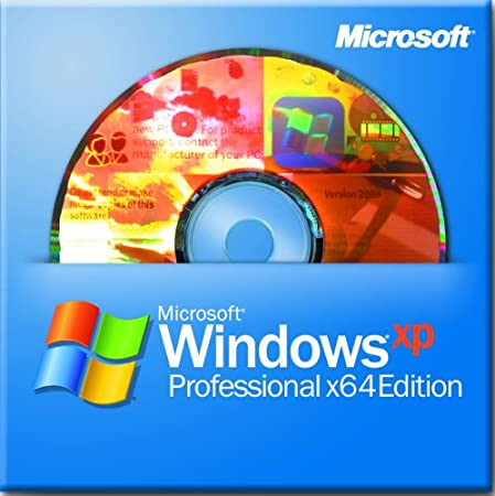 Microsoft Windows XP Pro X64 Edition SP2B for System Builders [Old Version]
