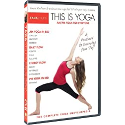 Tara Stiles This is Yoga DVD 3: AM/PM Yoga for Everyone