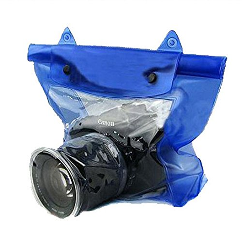 Noise Blue Waterproof Underwater Camera Housing Case Dry Bag For SLR DSLR Camera Nikon, Sony, Canon