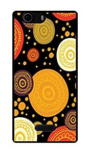 Micromax Canvas Nitro 2 E311 Printed Back Cover