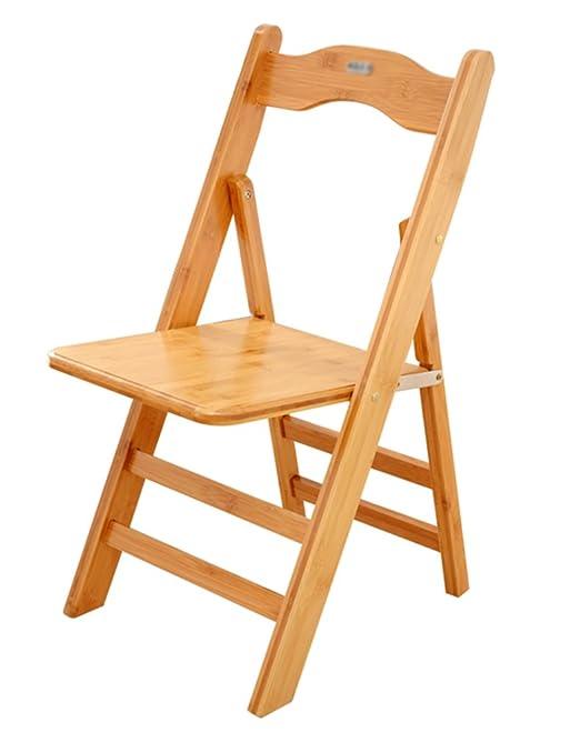 Silla de escritorio Silla plegable de madera maciza simple de los muebles Silla de oficina ( Diseño : Pack of 3 )