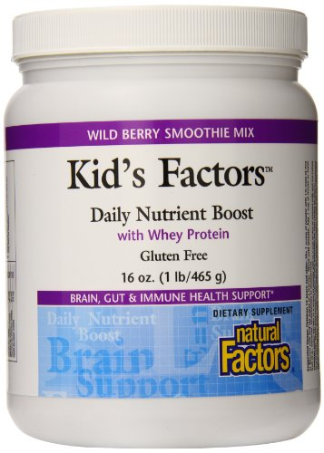 Natural Factors  Whey Protein Powder Review