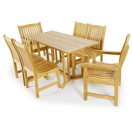 Barbuda Veranda Teak Dining Set
