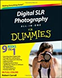 Cover of Digital SLR Photography All-in-One For Dummies by Robert Correll 0470768789