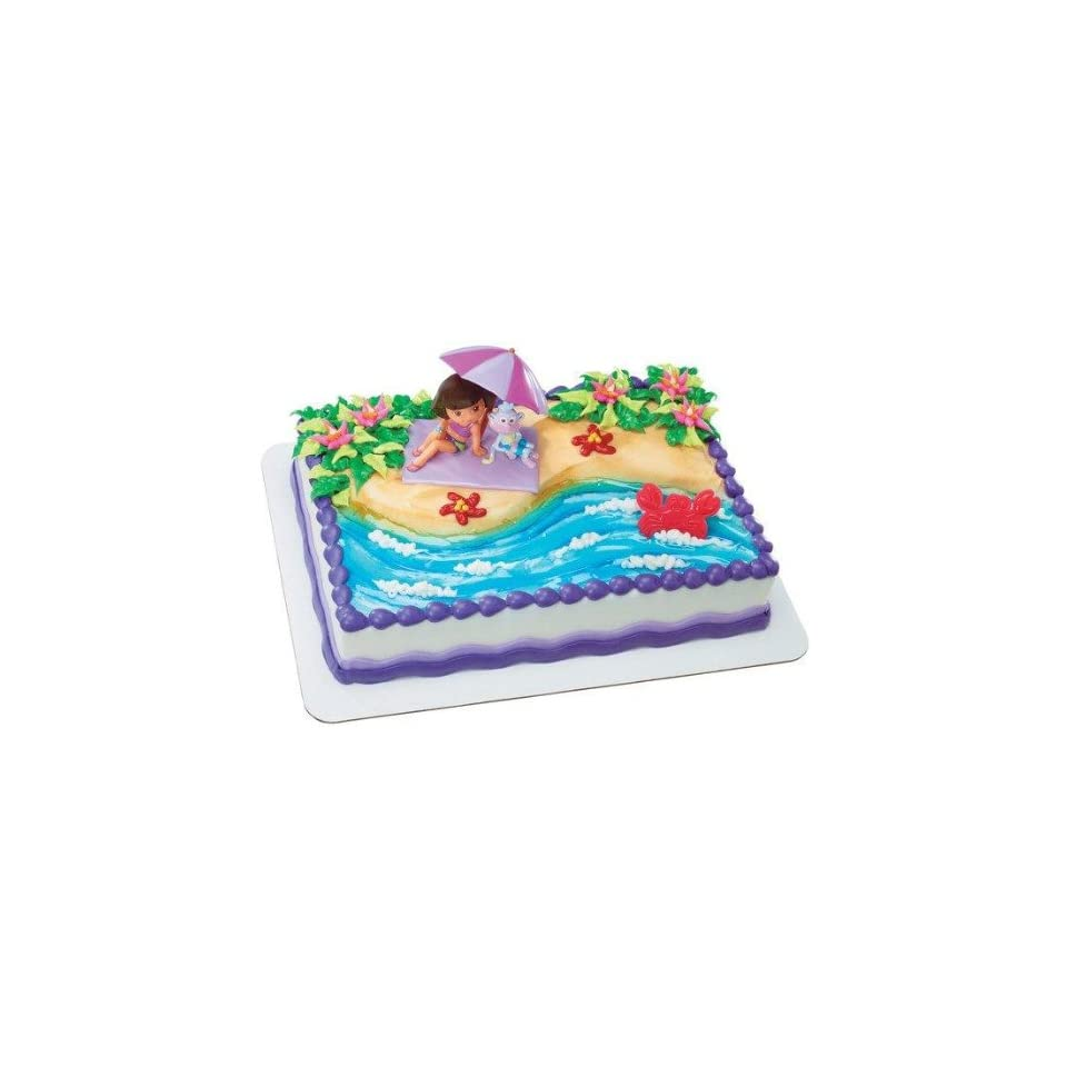 Dora Cake Decorating Kit : Dora and Diego Cake Decorating Kit on PopScreen