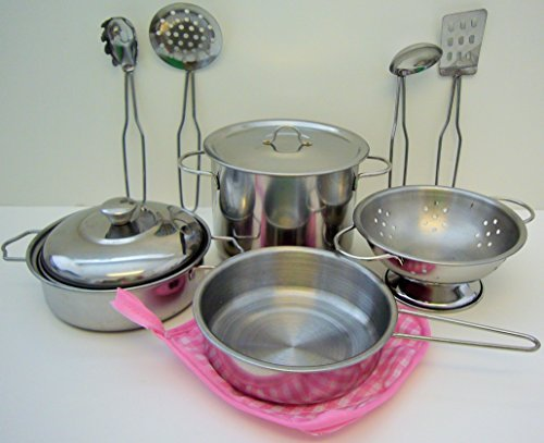 Playset Metal Pots and Pans