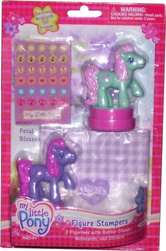 Picture of Jakks Pacific My Little Pony Figure Stampers Kit (B000WWKYVG) (Jakks Pacific Action Figures)