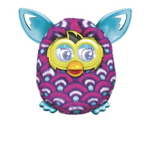 Furby Boom Plush Toy - Purple Waves
