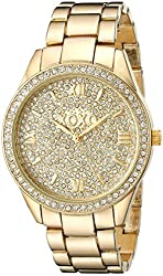 XOXO Women's XO5801 Analog Display Japanese Quartz Gold Watch