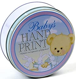Milestone Collection Baby Hand Print Kit, Blue/Pink/Green. 5.5\