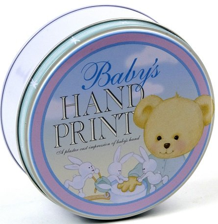 "Milestone Collection Baby Hand Print Kit, Blue/Pink/Green. 5.5"" x 2"""