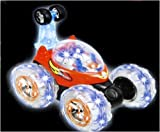 Invincible Tornado Flash Turbo Twister Stunt Truck Multifunctional Lunar Car RC Magic Aerobatic Car