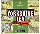 Yorkshire Tea Bags Hard Water ( 1 x 80 Pack )