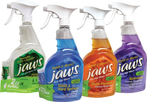 Jaws - Just Add Water System Complete Home Cleaning Kit front-425923