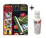 Pack Puzzle Roll Educa + Pegamento/Conserver. Tapete universal para transportar/guardar puzzles + Fix puzzle Educa