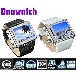 2GB内蔵小型軽量多機能高画質デジタルメディアプレーヤー腕時計 DnaWatch