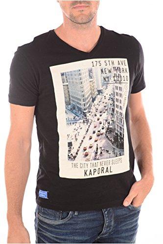 Kaporal Tulip-Maglietta a maniche corte, colore: nero nero XL