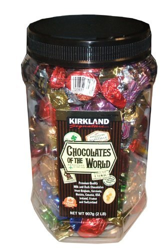 Kirkland Signature Chocolates Of The World Chocolate Holiday Assortment, 2 Pound