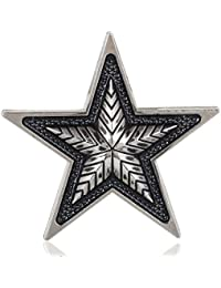 Lapel Pin, Designer Retro Army Star Brooch Pin For Men- Shirt Stud For Men - Men Accessories