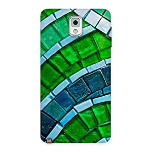 Impressive Green Footpath Back Case Cover for Galaxy Note 3