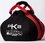 Kettlebell Set - The Best Exercise Equipment For Your Workout - Adjustable Kettlebells - Portable Weights - Soft Kettle Bell - Weight Set For Fitness - SATISFACTION GUARANTEE! (Red, 0-30 lbs)