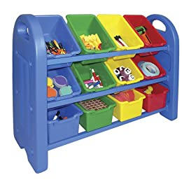 Product Image ECR Plastic Toy Organizer with 12 Bins
