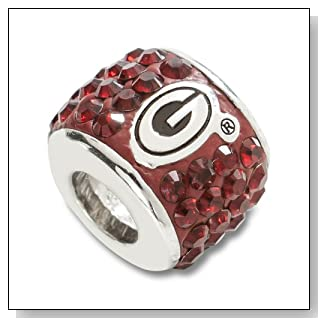 NCAA Georgia Bulldogs Premier Bead