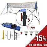 SoBuy Height Adjustable 400 cm Tennis...