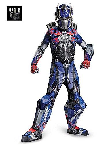 [Dressing Up & Costumes- Transformers 4 Optimus Prime Prestige Costume for Boys, Sizes Medium (7-8) -] (Prestige Optimus Prime Kids Costumes)
