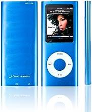 SAVFY 1,8 Pouces TFT écran Lecteur MP3/MP4 8GB 8Go DICTAPHONE MUSIQUE avec radio FM, jeux, enregistreur & lecteur vidéo