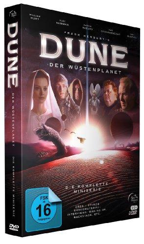 Dune: Der Wüstenplanet - Der komplette TV-Mehrteiler (Extended Remastered Version + 180 Min. Extras) [3 DVDs]